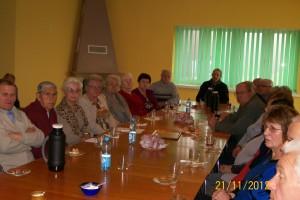 Spotkanie Klubu Seniora