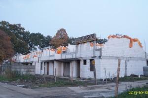 budowa osiedla domków przy Zamkowe
