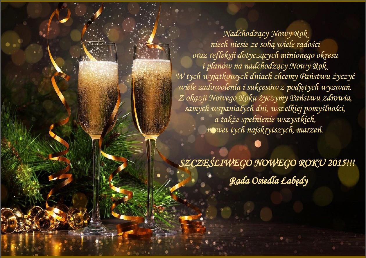 życzenia noworoczne 2015