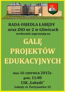 Gala projektów edukacyjnych