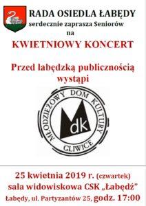 koncert 25.04.2019